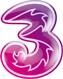 logo operator Three Prabayar